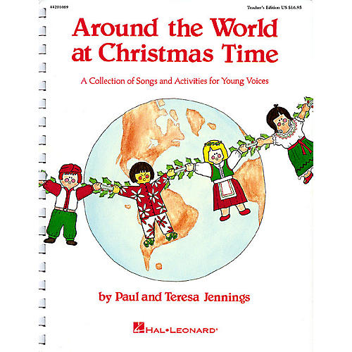 Hal Leonard Around the World at Christmas Time (Musical) ShowTrax CD Composed by Teresa Jennings thumbnail