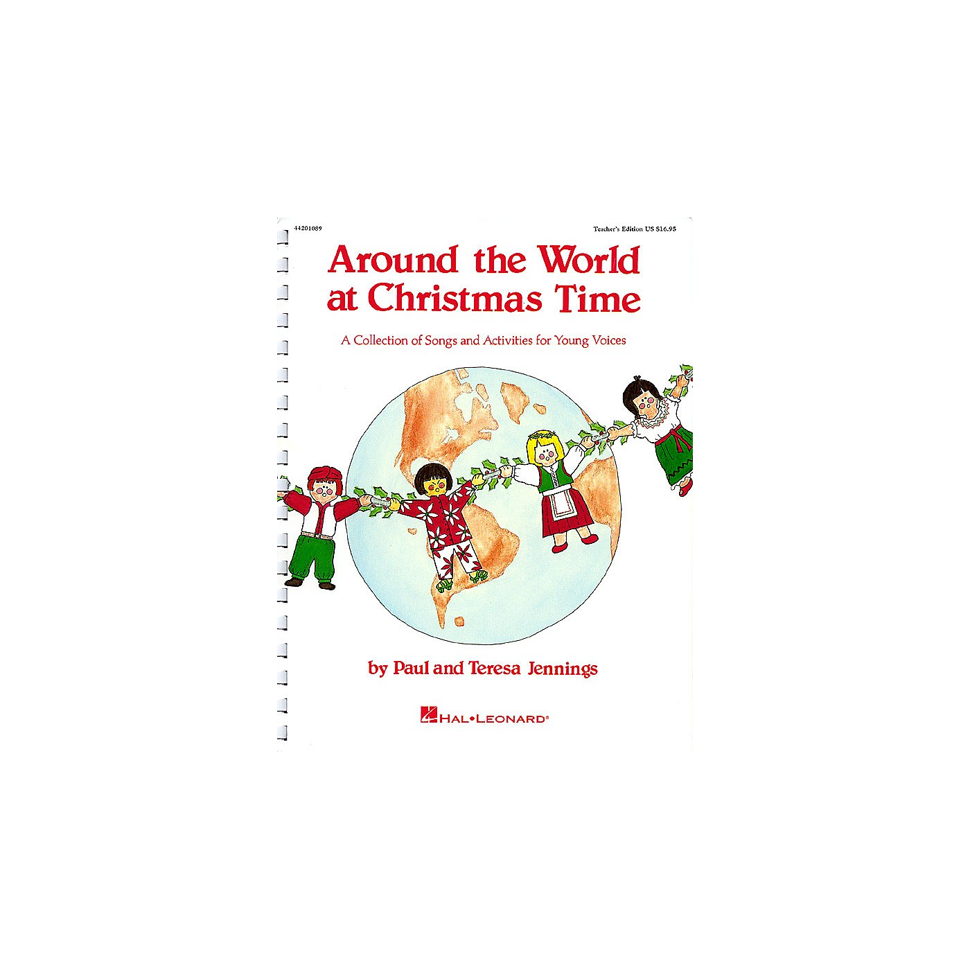Hal Leonard Around the World at Christmas Time (Musical) Singer 10 Pak Composed by Teresa Jennings thumbnail