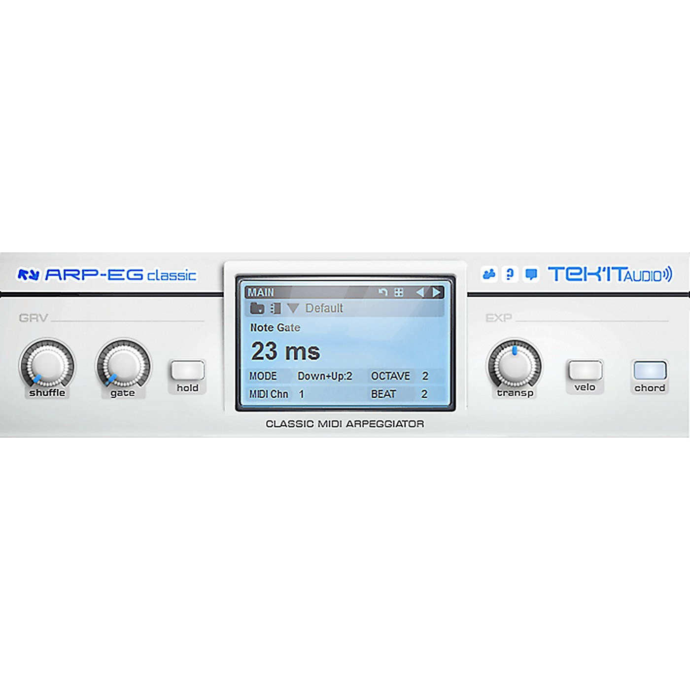 Tek'it Audio Arp-EG Classic Arpeggiator Plug-in Software Download thumbnail