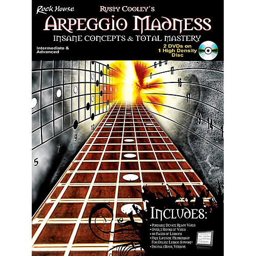 Rock House Arpeggio Madness - Insane Concepts & Total Mastery Book/DVD thumbnail