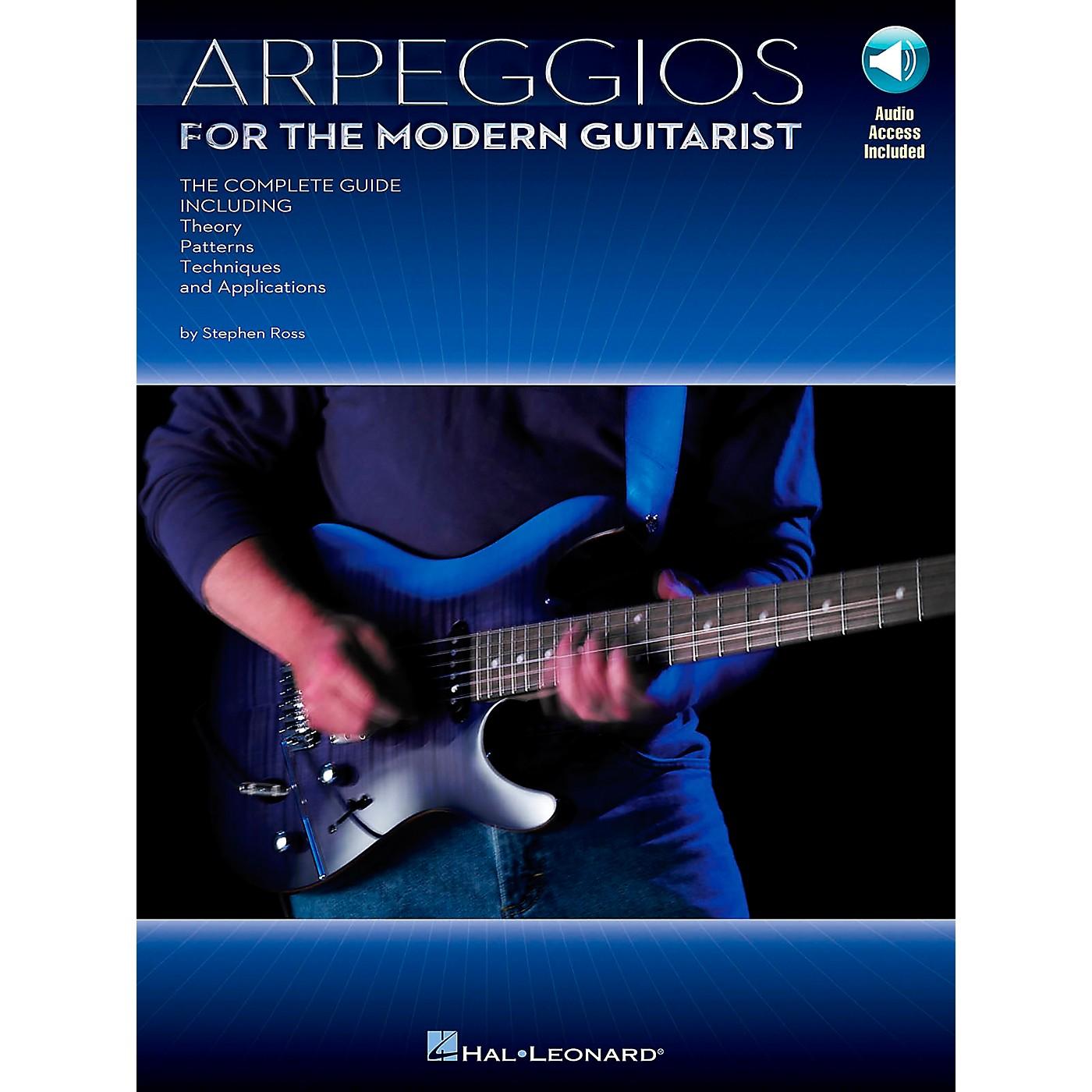Hal Leonard Arpeggios for The Modern Guitarist (Book/Online Audio) thumbnail