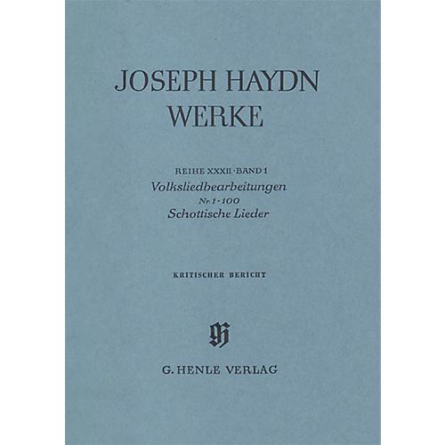 G. Henle Verlag Arrangements of Folk Songs - Scottish Songs No. 1-100 Henle Edition Series Hardcover thumbnail