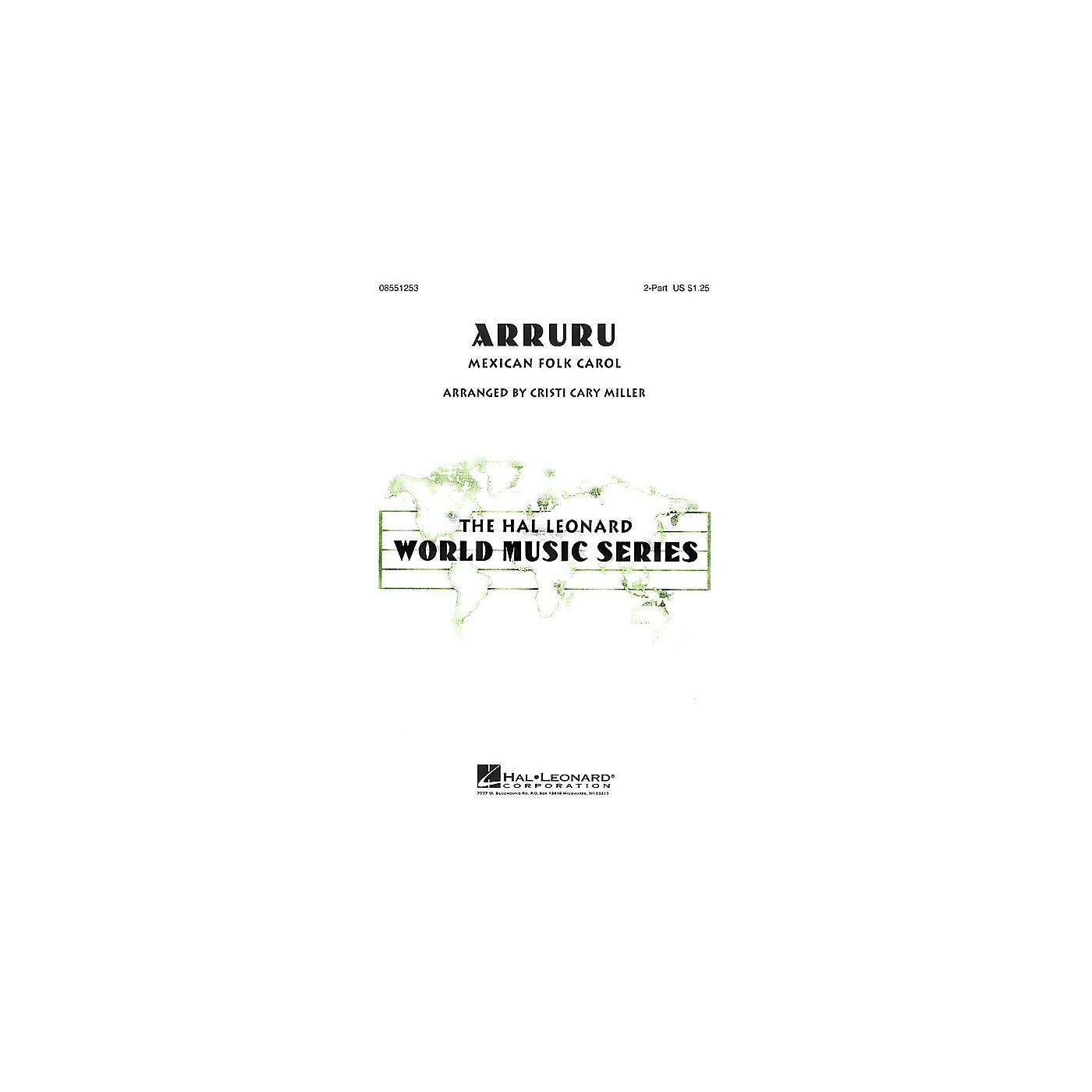 Hal Leonard Arruru 2-Part arranged by Cristi Cary Miller thumbnail