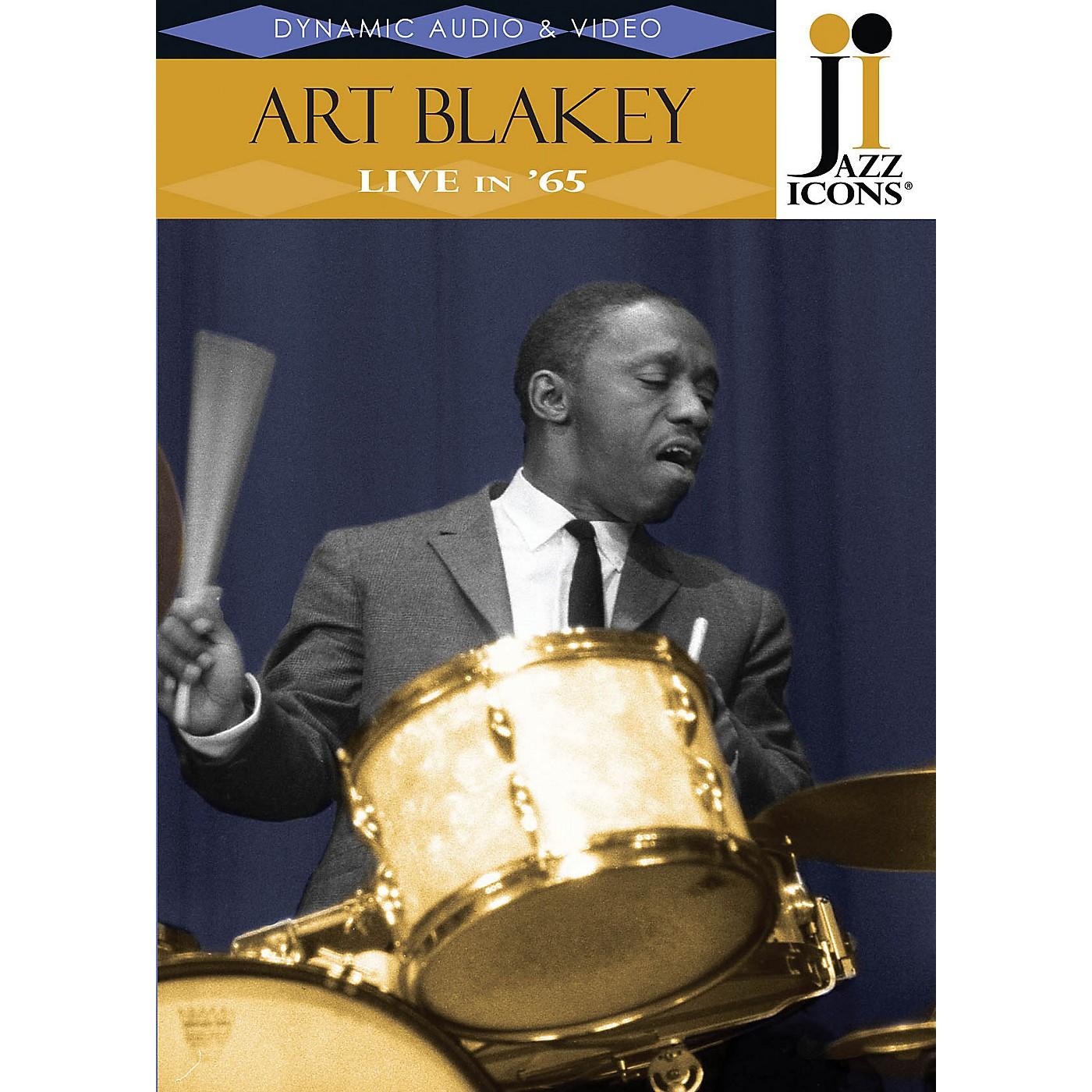 Jazz Icons Art Blakey - Live in '65 (Jazz Icons DVD) DVD Series DVD Performed by Art Blakey & The Jazz Messengers thumbnail