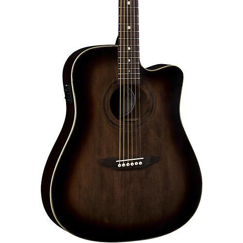 Luna Guitars Art Vintage Dreadnought Cutaway Acoustic-Electric Guitar thumbnail
