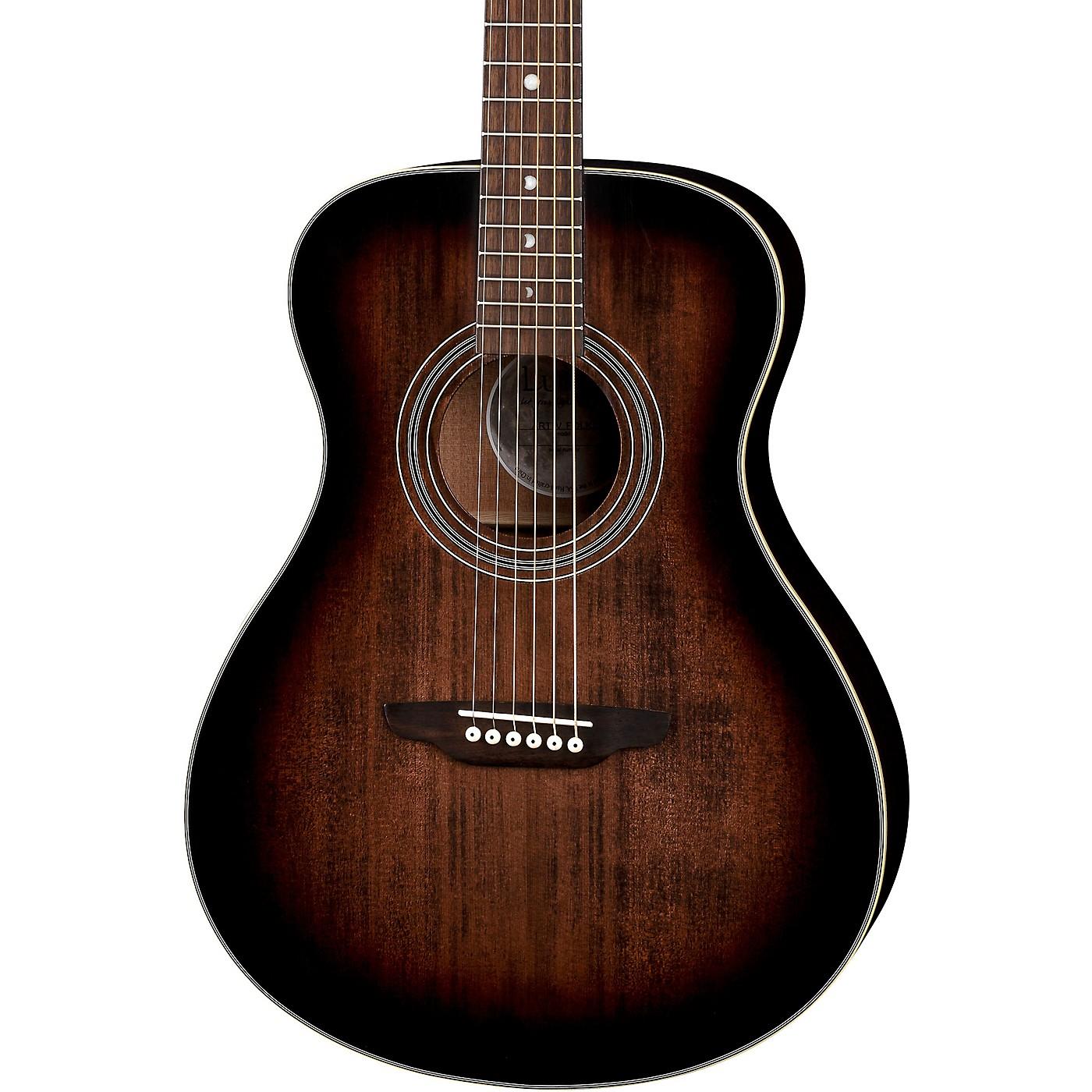 Luna Guitars Art Vintage Folk Solid Top Left-Handed Acoustic Guitar thumbnail