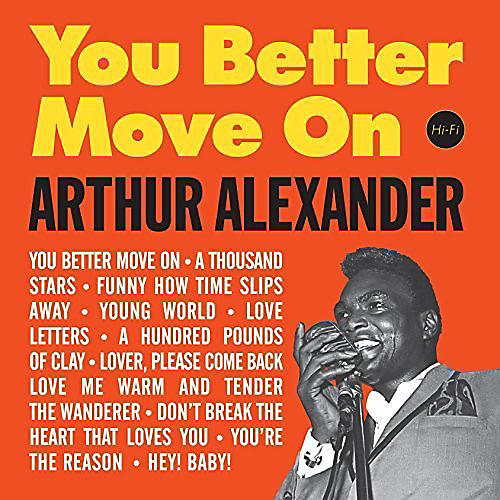 Alliance Arthur Alexander - You Better Move on + 2 Bonus Tracks thumbnail