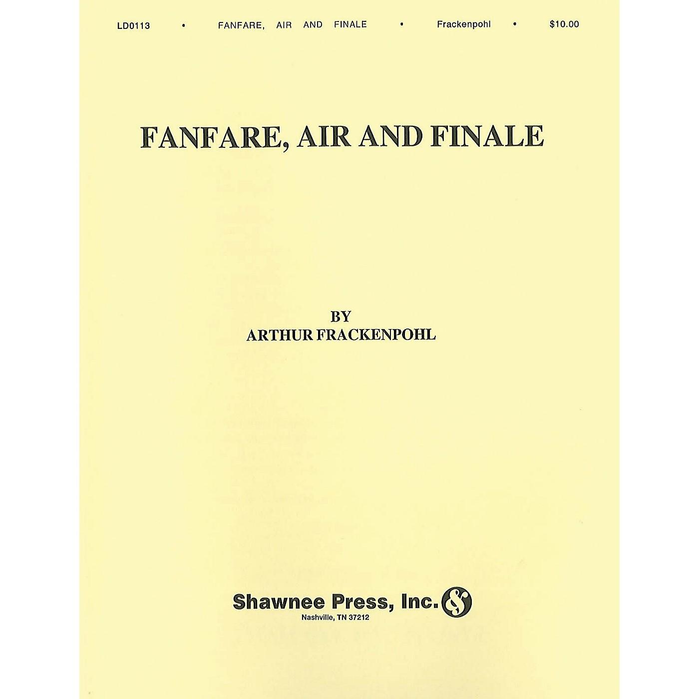 Hal Leonard Arthur Frackenpohl: Fanfare, Air And Finale Saxophone thumbnail