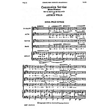 Music Sales Arthur Wills: Communion Service (Missa Eliensis) SATB