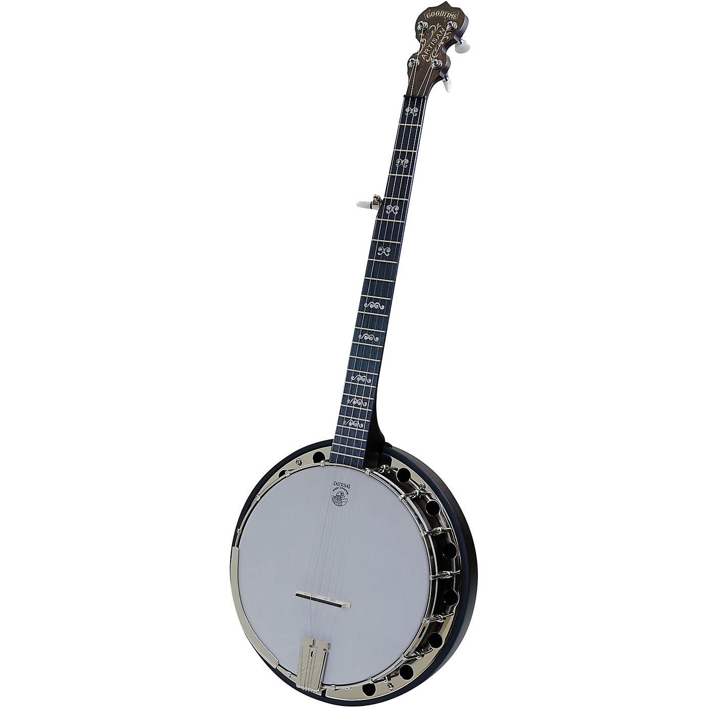 Deering Artisan Goodtime II 5-String Resonator Banjo thumbnail