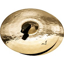 Sabian Artisan Traditional Symphonic Extra Dark Medium Crash - Brilliant