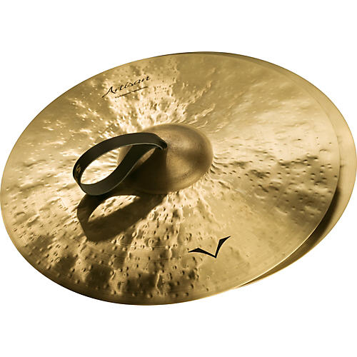 Sabian Artisan Traditional Symphonic Medium Heavy Cymbals thumbnail