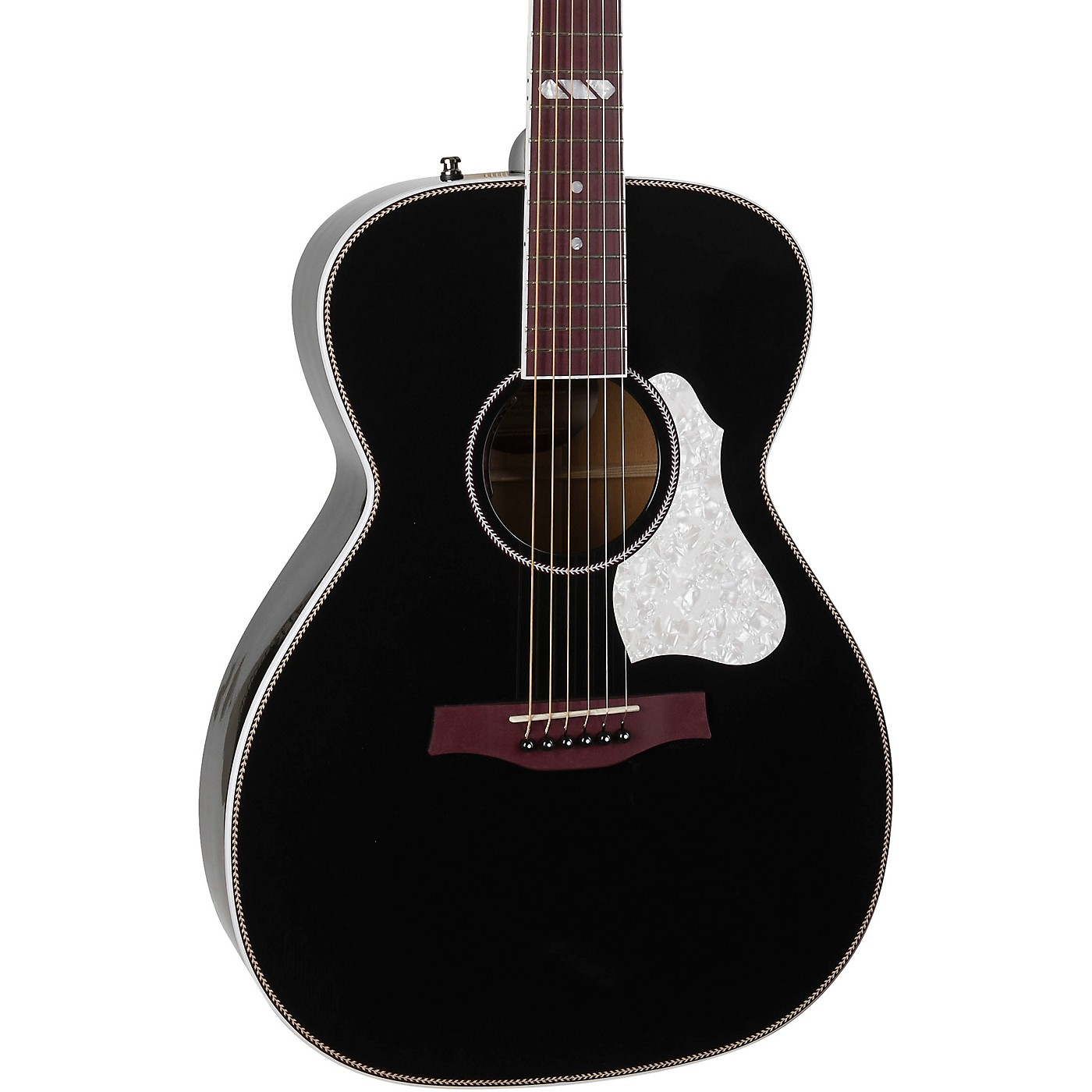 Seagull Artist Limited Tuxedo Black EQ Acoustic-Electric Guitar thumbnail