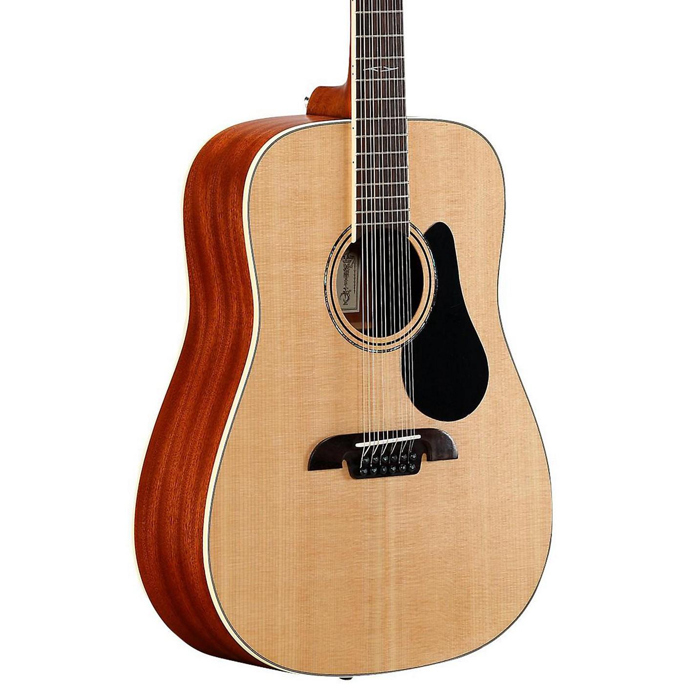 Alvarez Artist Series AD60-12 Dreadnought Twelve String Acoustic Guitar thumbnail