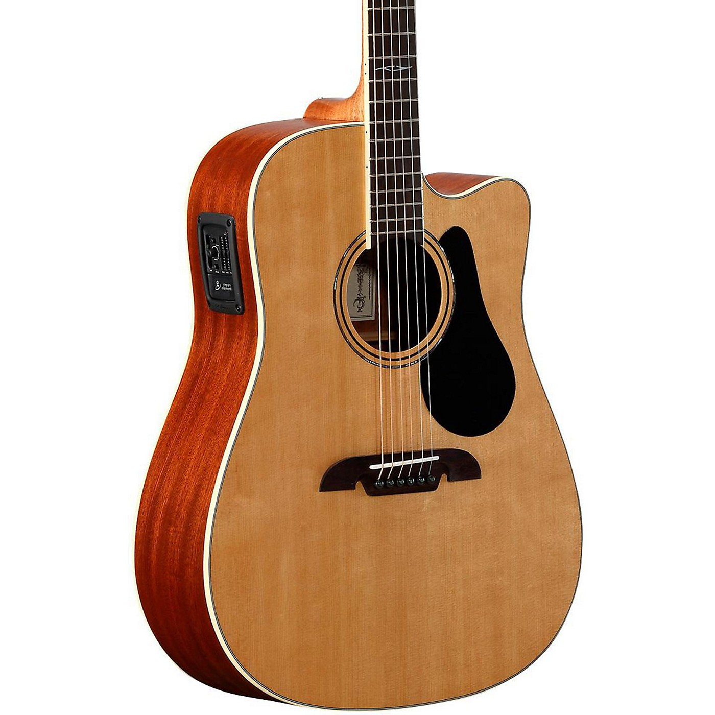 Alvarez Artist Series AD60CE Dreadnought Acoustic-Electric Guitar thumbnail