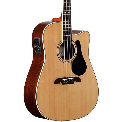 Alvarez Artist Series AD70CE Dreadnought Acoustic-Electric Guitar thumbnail