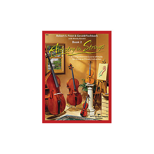 KJOS Artistry In Strings 2 Book/CD Viola Book thumbnail
