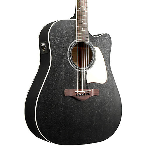 Ibanez Artwood AW360CEWK Solid Top Dreadnought Acoustic-Electric Guitar thumbnail