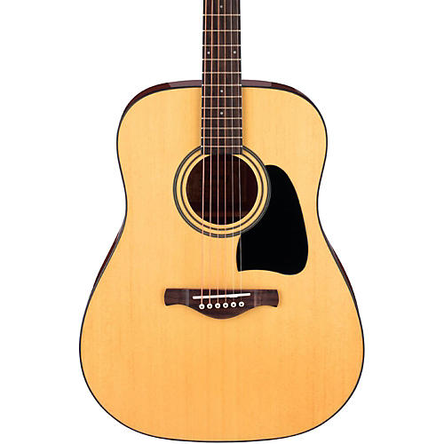 Ibanez Artwood Series AW50 Solid Top Dreadnought Acoustic Guitar-thumbnail