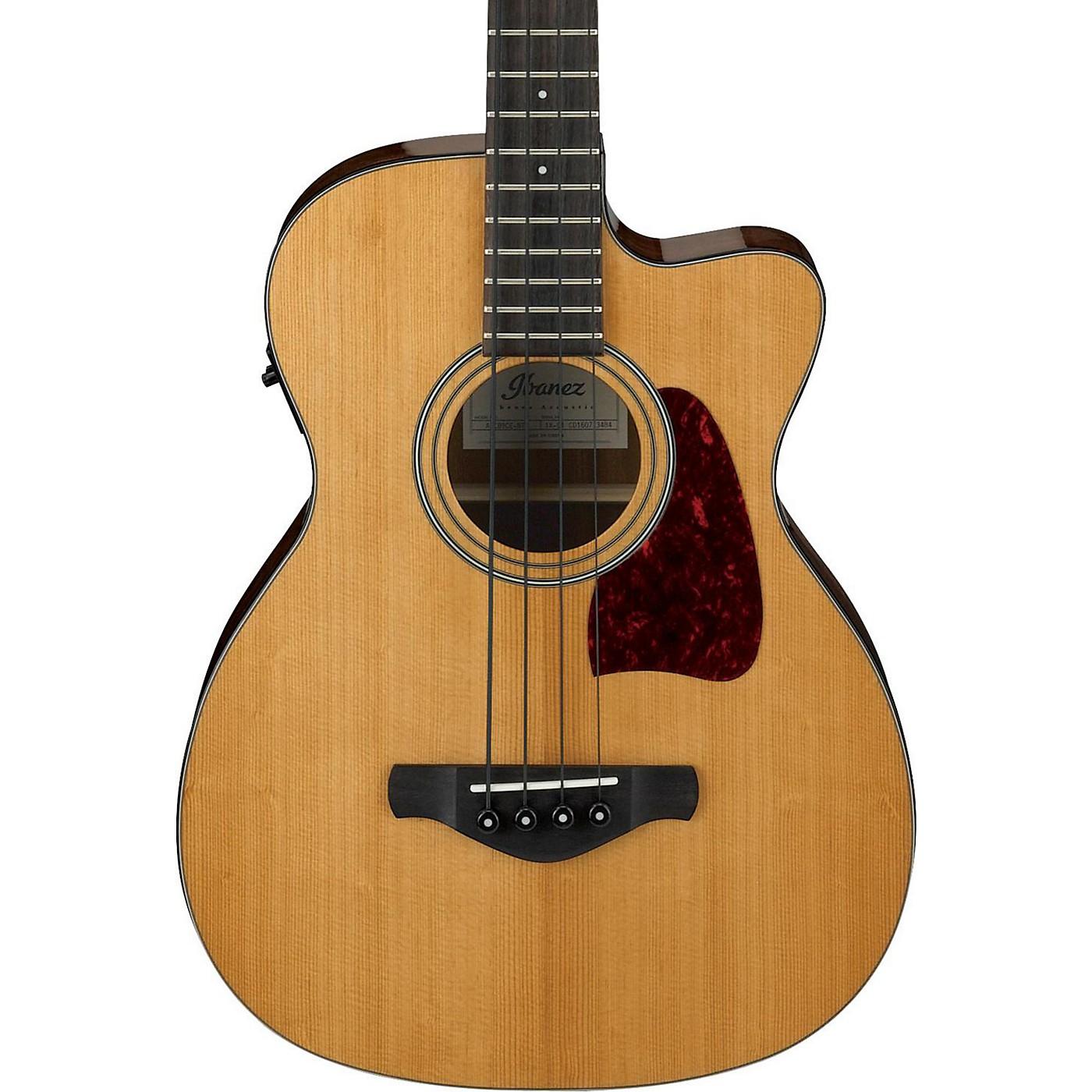 Ibanez Artwood Vintage AVCB9CENT Electric-Acoustic Bass Guitar thumbnail