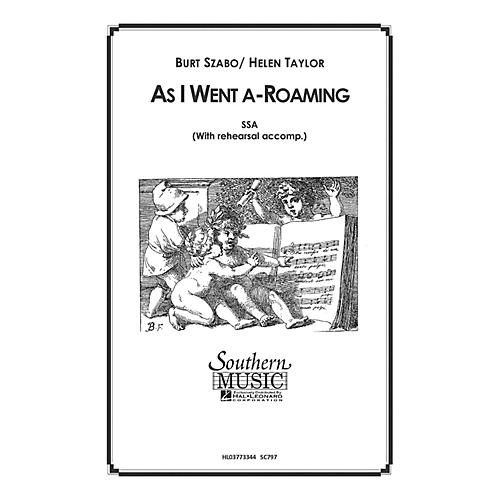 Hal Leonard As I Went A Roaming (Choral Music/Octavo Secular Ssa) SSA Composed by Szabo, Burt thumbnail