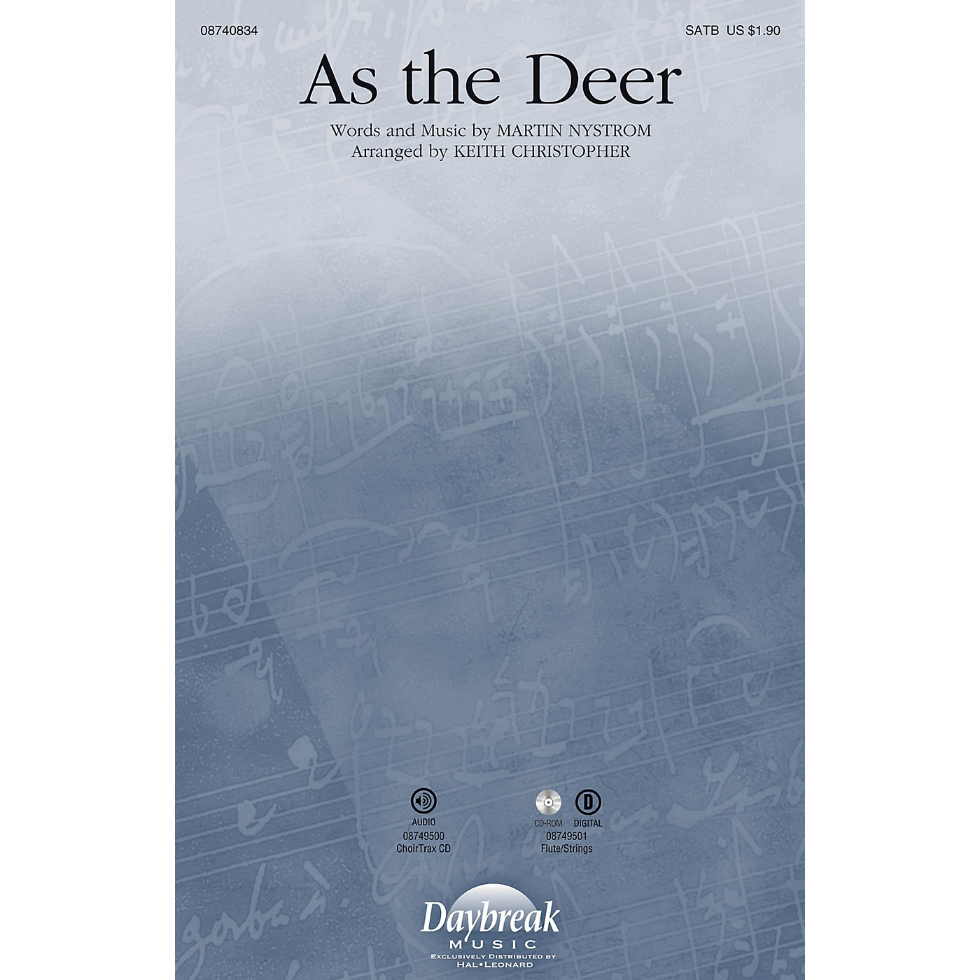 Daybreak Music As the Deer SATB arranged by Keith Christopher thumbnail
