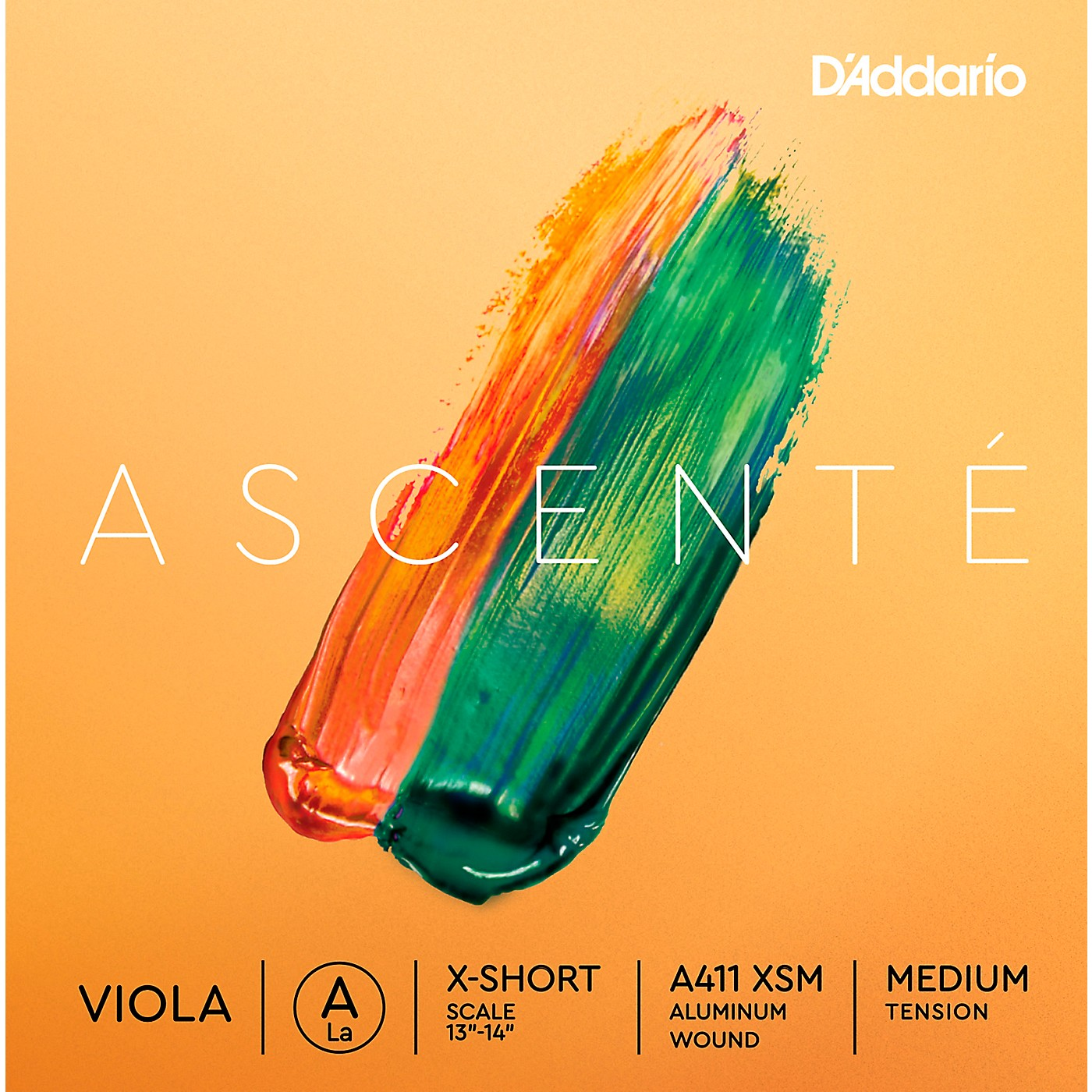 D'Addario Ascente Viola String Set, Medium Tension thumbnail