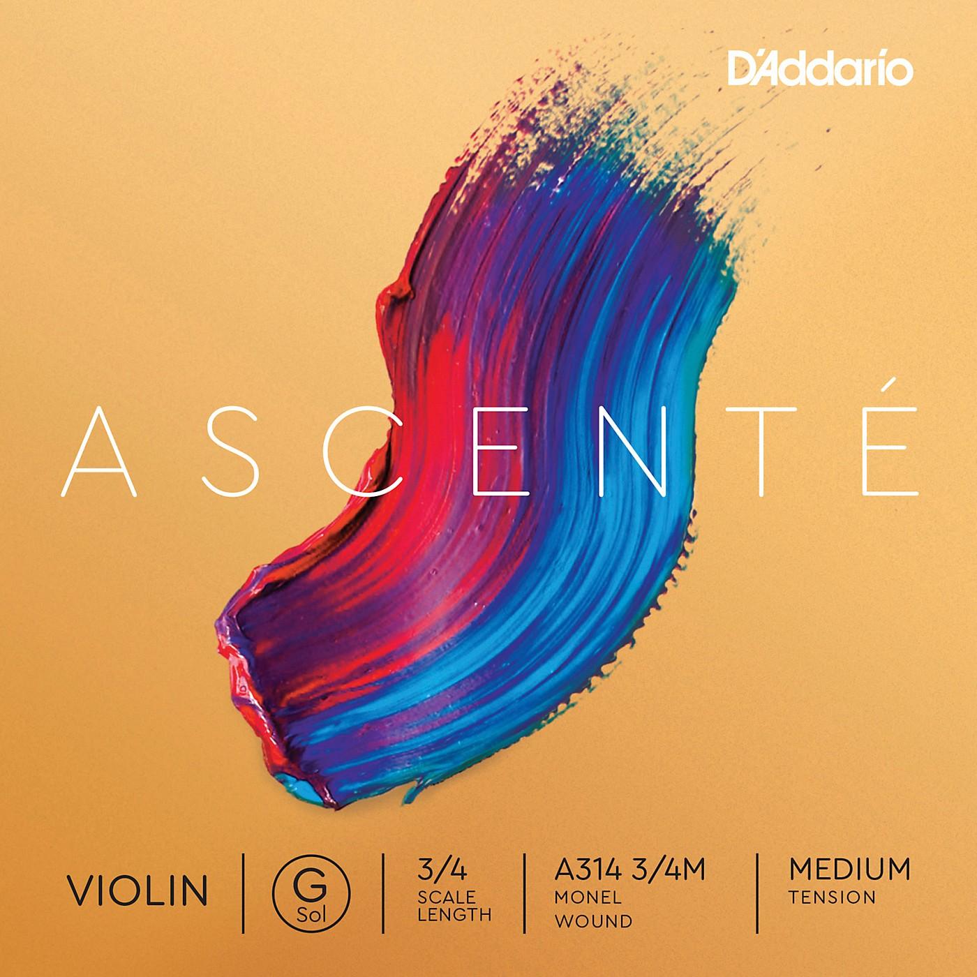 D'Addario Ascente Violin G String thumbnail