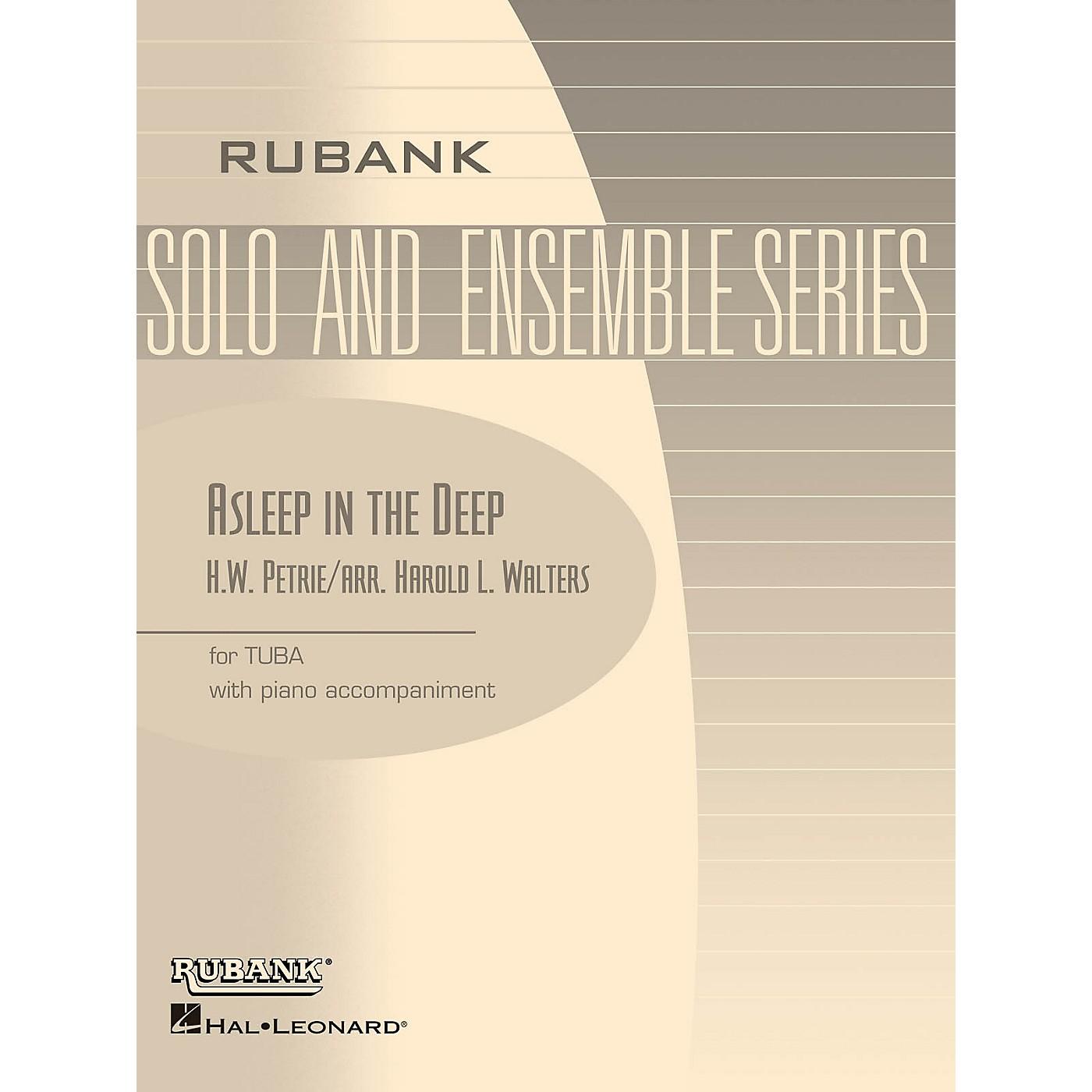 Rubank Publications Asleep in the Deep Rubank Solo/Ensemble Sheet Series Softcover thumbnail