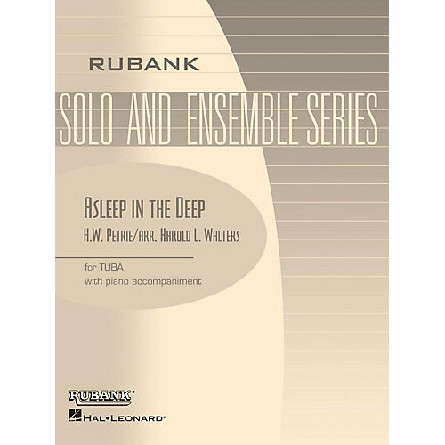 Rubank Publications Asleep in the Deep Rubank Solo/Ensemble Sheet Series Softcover thumbnail