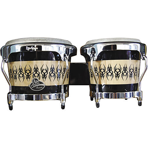 LP Aspire Accent Wood Bongos with Scarab Finish thumbnail