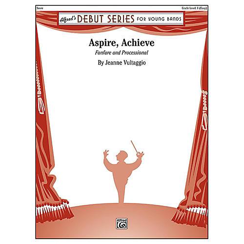 Alfred Aspire, Achieve Concert Band Grade 1 Set thumbnail