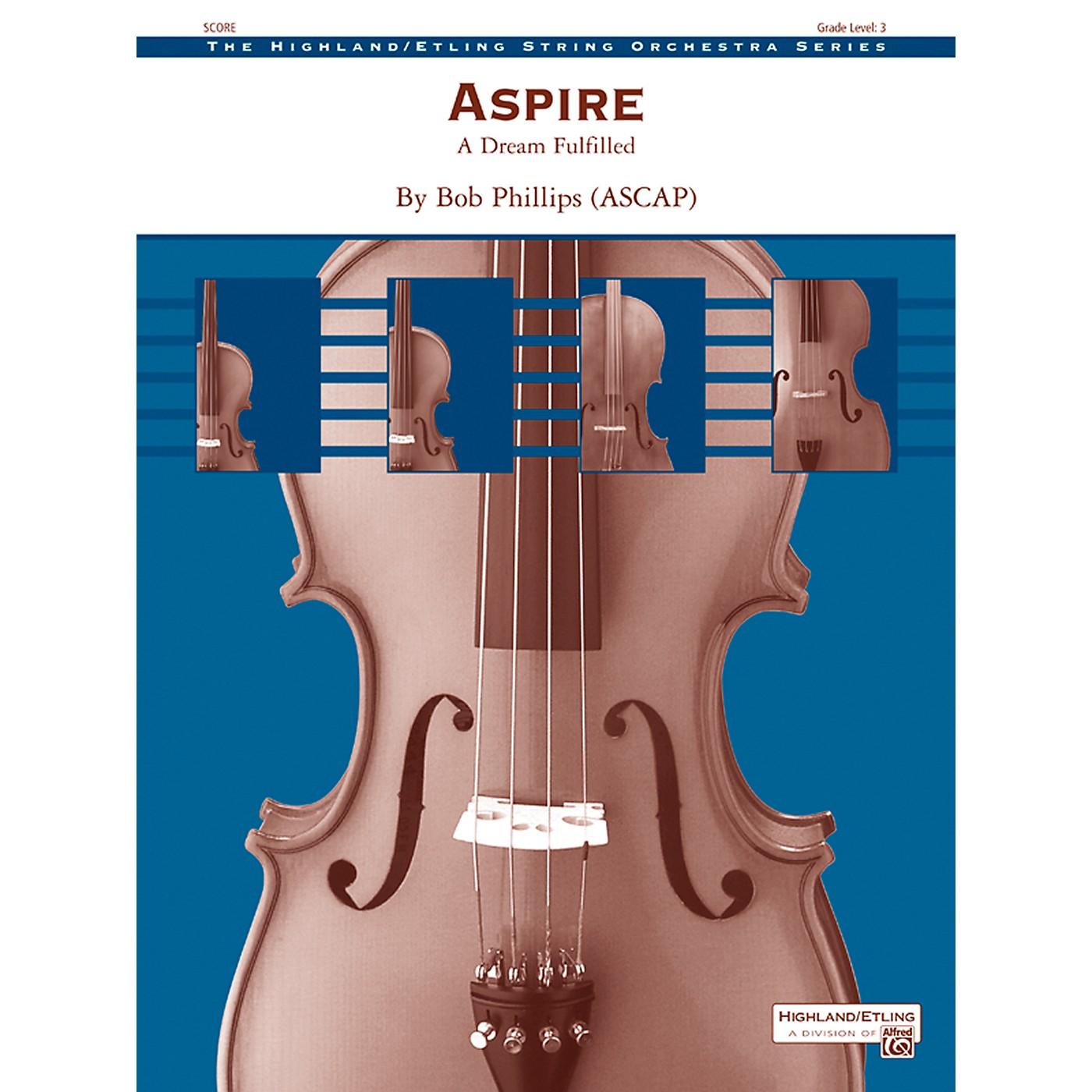 Alfred Aspire String Orchestra - Grade 3 Set thumbnail