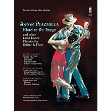 Music Minus One Astor Piazzolla - Histoire Du Tango and Other Latin Classics for Gtr & Fl Music Minus One BK/Audio Online