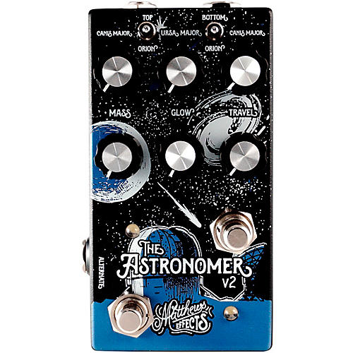 Matthews Effects Astronomer v2 Celestial Reverb Effects Pedal thumbnail