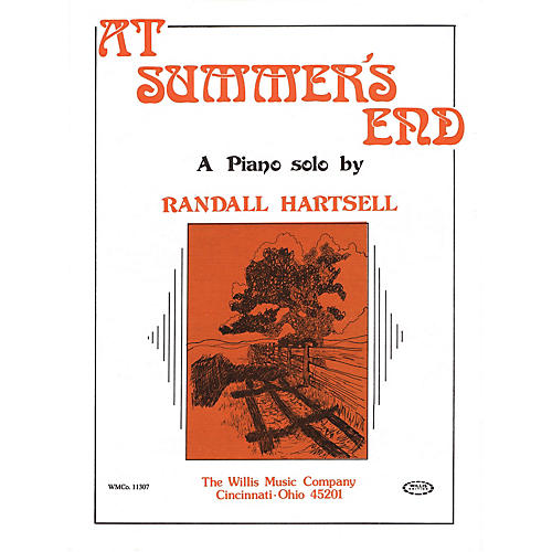 Willis Music At Summer's End (Early Inter Level) Willis Series by Randall Hartsell thumbnail