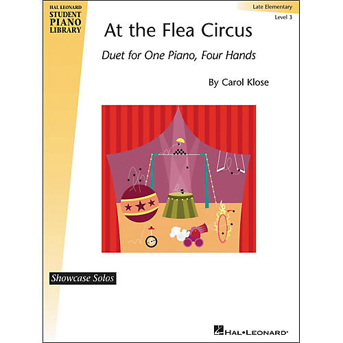 Hal Leonard At The Flea Circus - Piano Duet Showcase Solos Level 3 Hal Leonard Student Piano Library by Carol Klose thumbnail