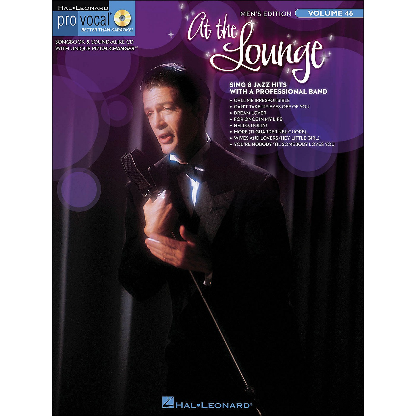 Hal Leonard At The Lounge - Pro Vocal Songbook & CD for Male Singers Volume 46 thumbnail