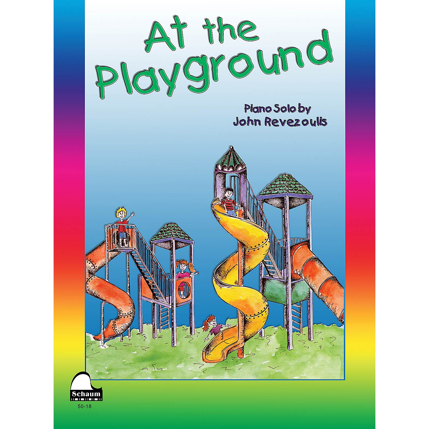 SCHAUM At The Playground Educational Piano Series Softcover thumbnail