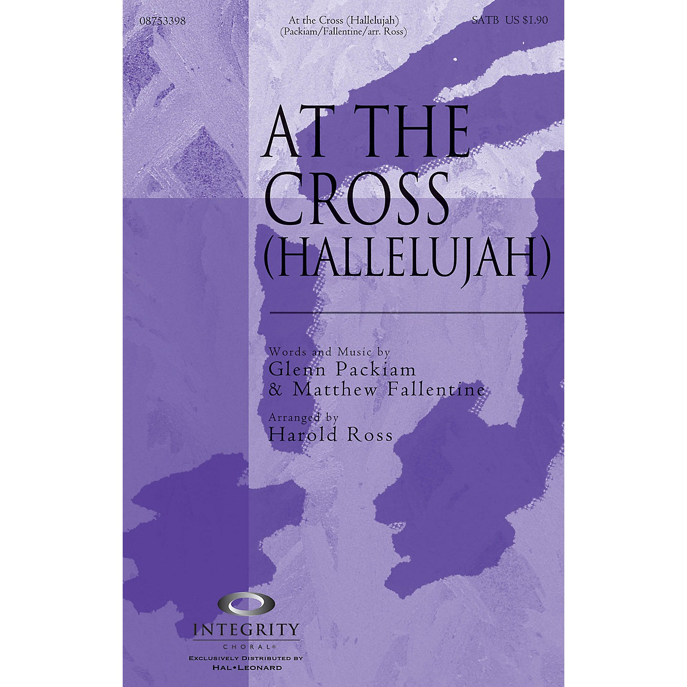 Integrity Choral At the Cross (Hallelujah) CD ACCOMP Arranged by Harold Ross thumbnail