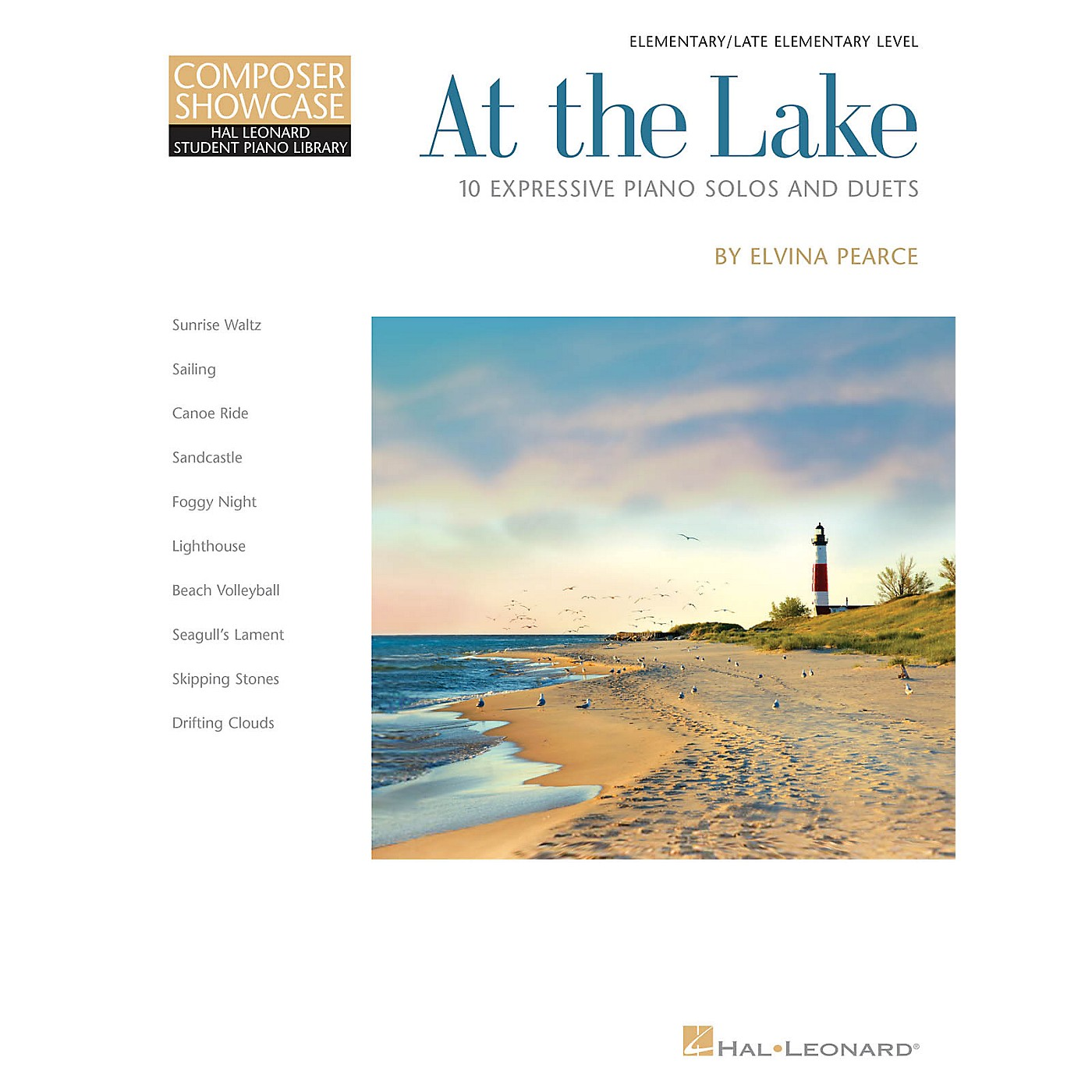 Hal Leonard At the Lake Piano Library Series Book by Elvina Pearce (Level Late Elem) thumbnail