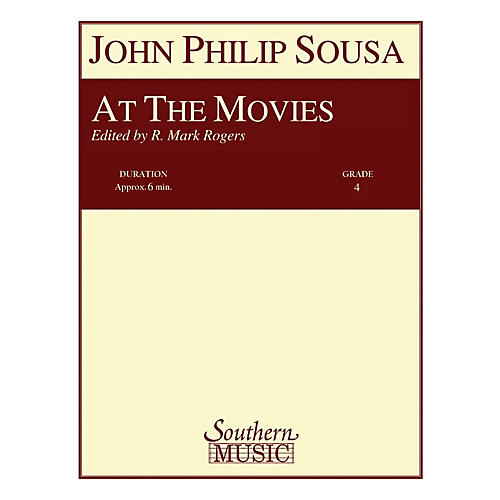 Southern At the Movies (Band/Concert Band Music) Concert Band Level 4 Arranged by R. Mark Rogers thumbnail