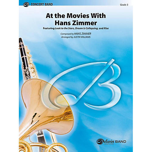 Alfred At the Movies with Hans Zimmer Concert Band Level 3 Set thumbnail