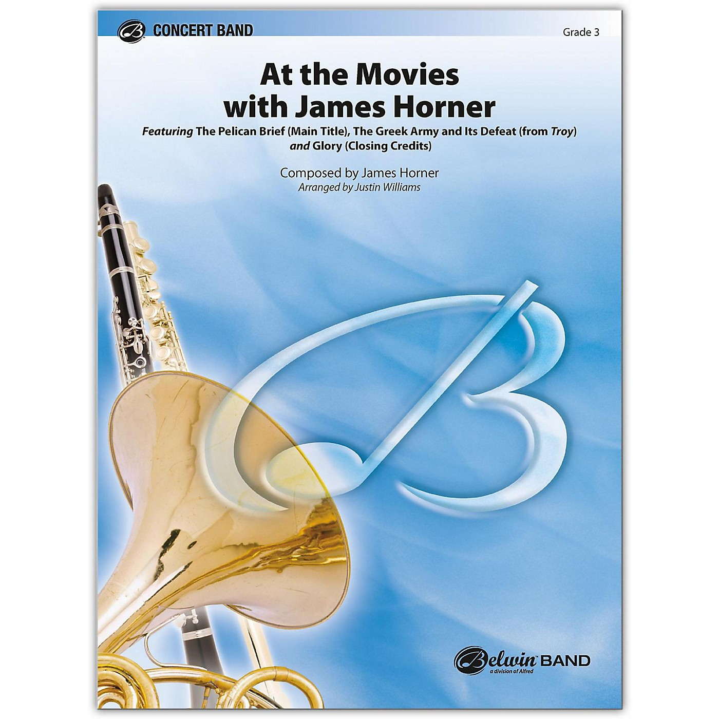 BELWIN At the Movies with James Horner 3 (Medium Easy) thumbnail