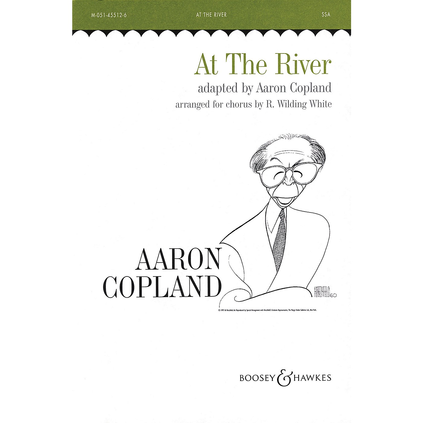 Boosey and Hawkes At the River (Hymn Tune) SSA composed by Aaron Copland arranged by R. Wilding-White thumbnail