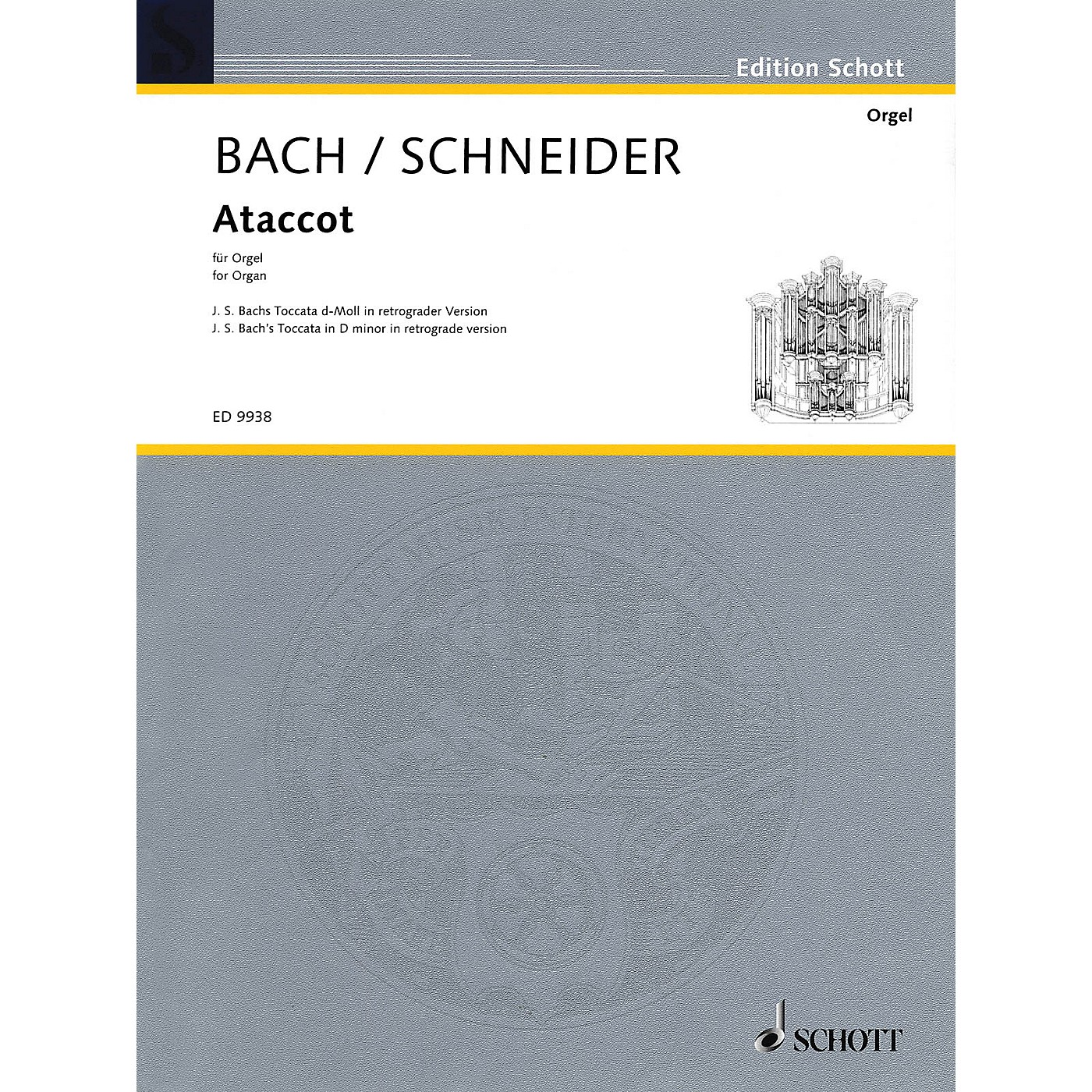 Schott Ataccot (J.S. Bach's Toccatoa in D Minor in Retrograde Version) Misc Series thumbnail