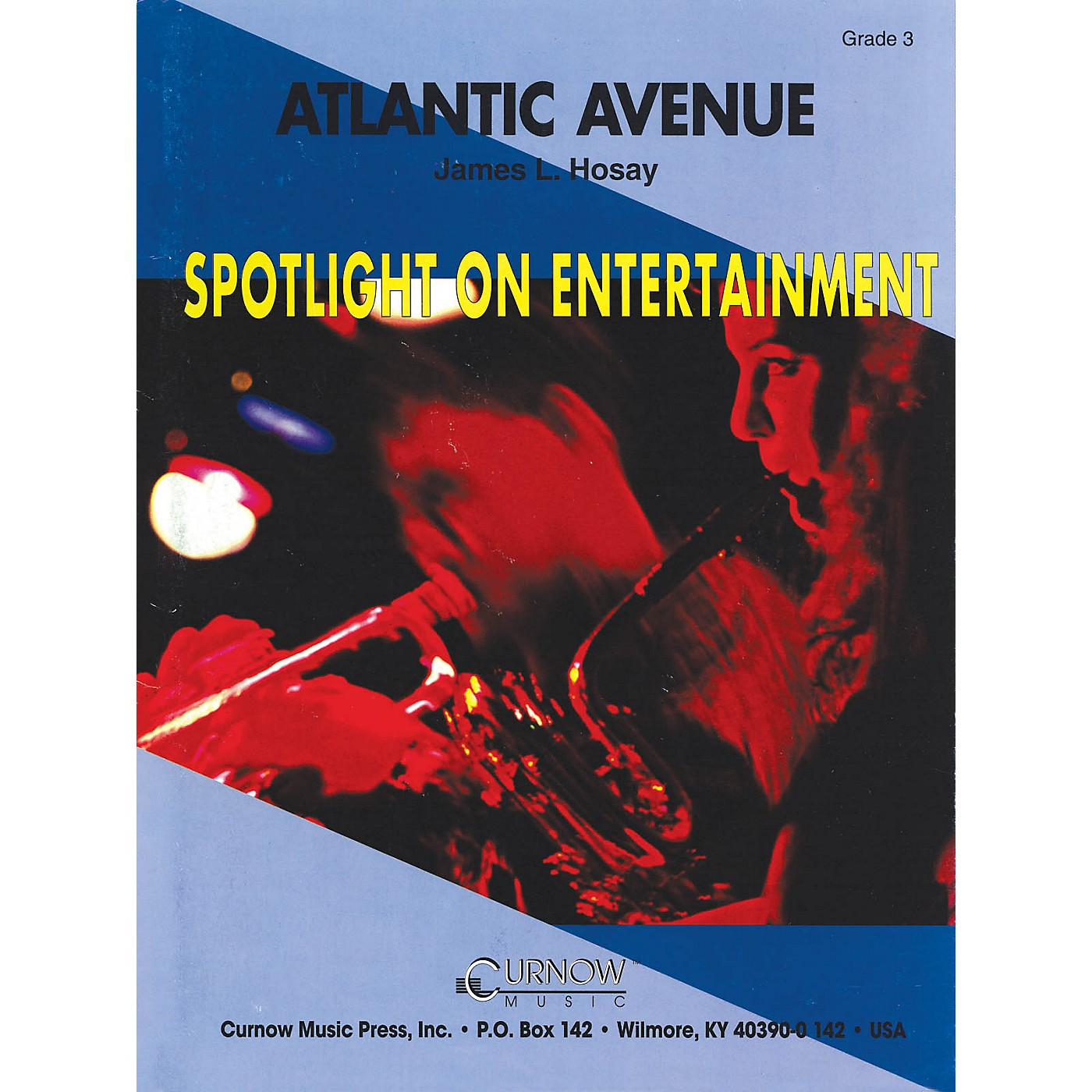 Hal Leonard Atlantic Avenue (Grade 3 - Score Only) Concert Band Level 3 Composed by James L. Hosay thumbnail