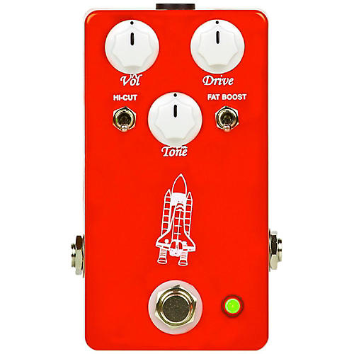Throne Room Pedals Atlantis Overdrive Guitar Effects Pedal thumbnail