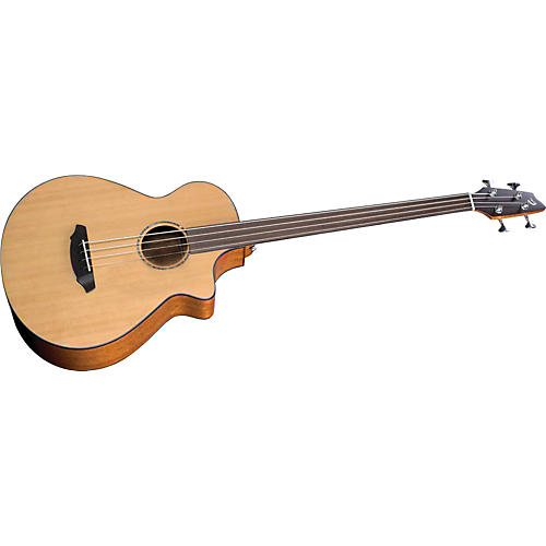 Breedlove Atlas Series Solo BJ350/CM4 Fretless Acoustic-Electric Bass Guitar-thumbnail