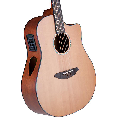 Breedlove Atlas Series Solo D350/CMe Dreadnought Acoustic-Electric Guitar-thumbnail